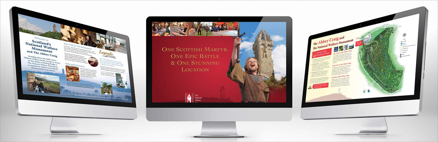 Wallace Monument Brochure Design