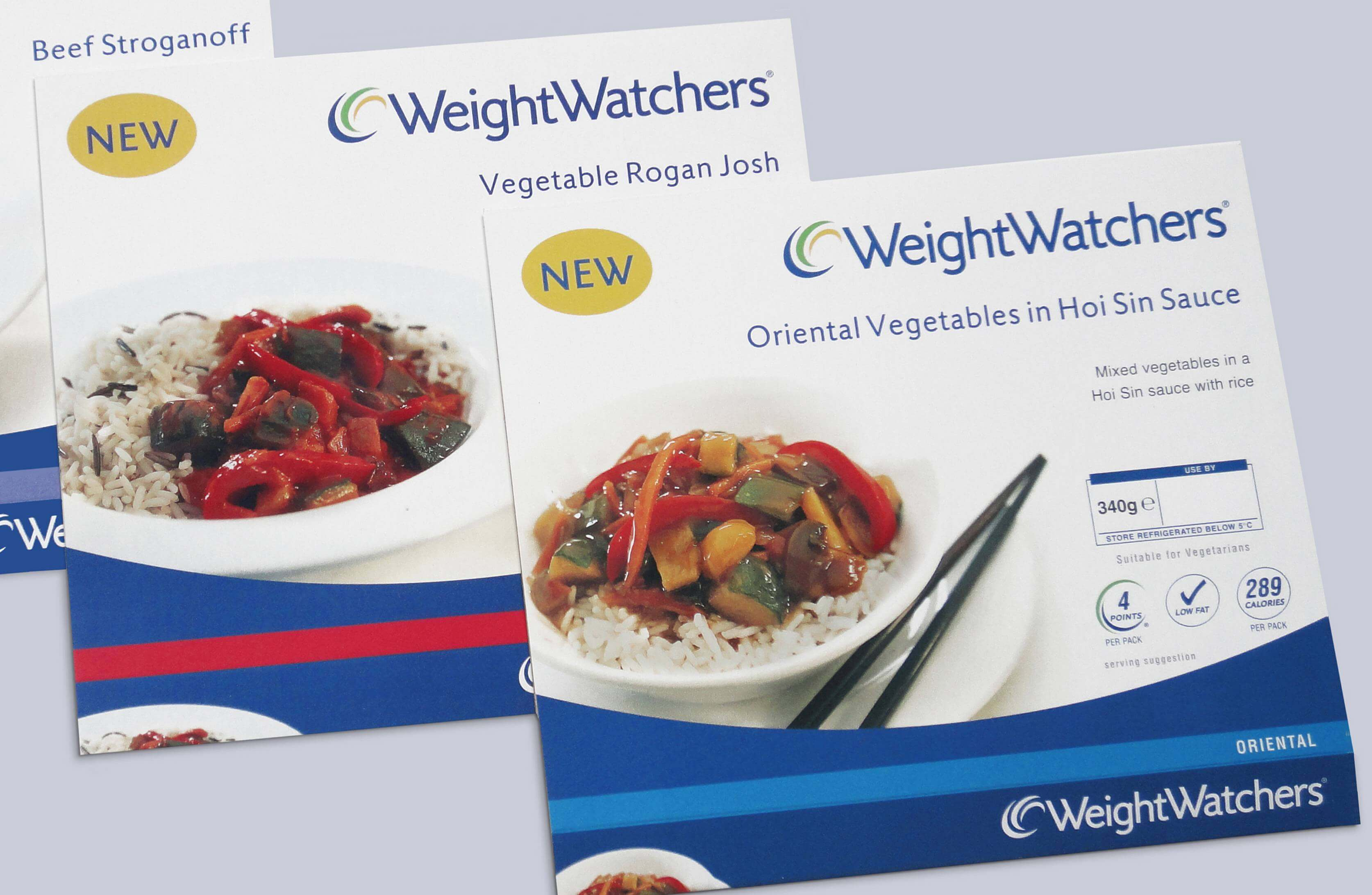 WeightWatchers - Packaging Design & Point of Sale Brief: To design and create digital artwork for a new range of packaging